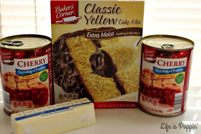 Slow-Cooker-Cherry-Dump-Cake-Ingredients