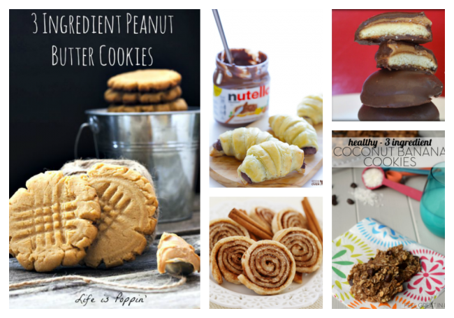 thirteen-3-ingredient-cookie-recipes