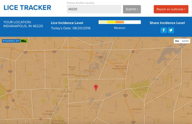 Nix-Lice-tracker