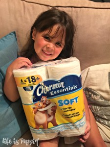 Bargain Brand Vs. Charmin! Softness You Can SEE and Feel!