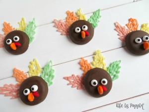 Easy & Adorable Turkey Cookies