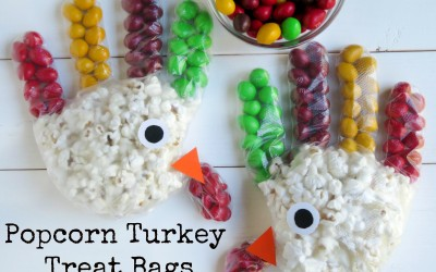 Popcorn Turkey Treat Bags