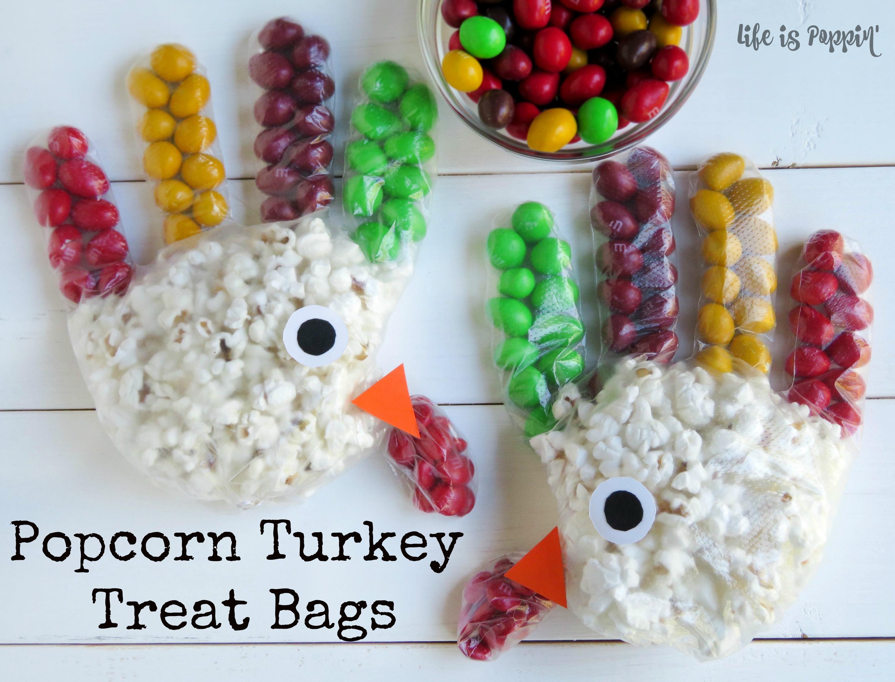 popcorn turkey treat bags is poppin