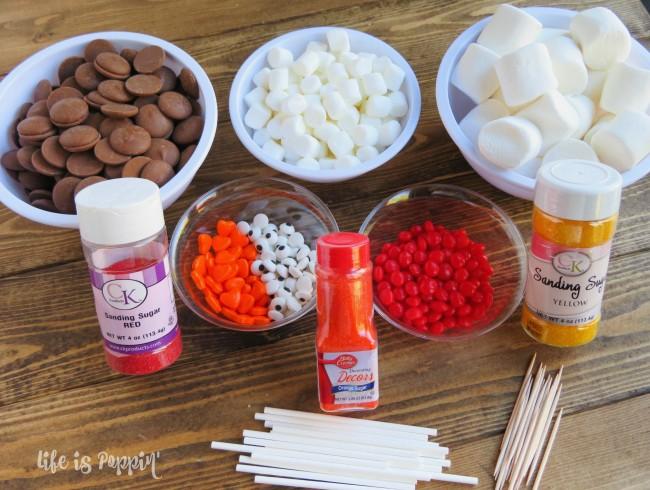 marshmallow-turkey-pops-ingredients