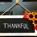 Easy 'Thankful' Fall Decor