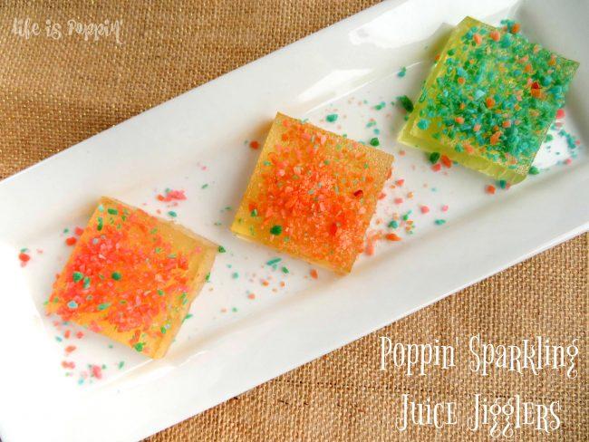 Poppin' Sparkling Juice Jigglers