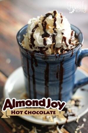 Almond Joy Hot Cocoa