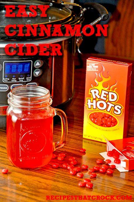 Easy Cinnamon Cider