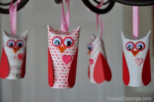 Paper Roll Owls