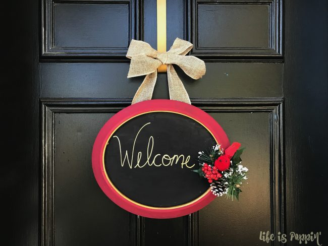 Welcome sign DIY