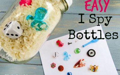 Easy I Spy Bottles – Perfect for Road Trips