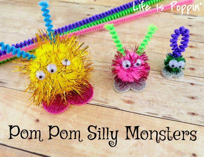 Pom Pom Silly Monsters