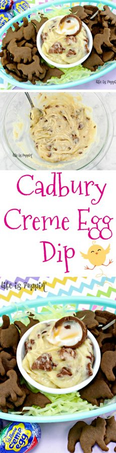 Cadbury Creme Egg Dip - Pin