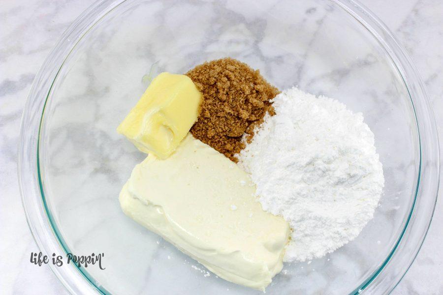 Easy Cadbury Egg Dip - Mix